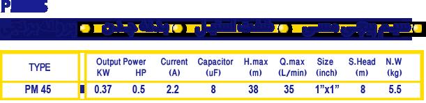 Iran Datis PM 45